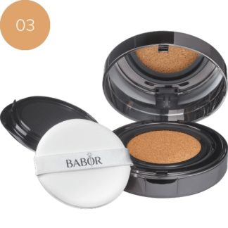 Cushion Foundation 03 Almond- luxury cosmeticts - michaela - moorman - Makeup - Babor