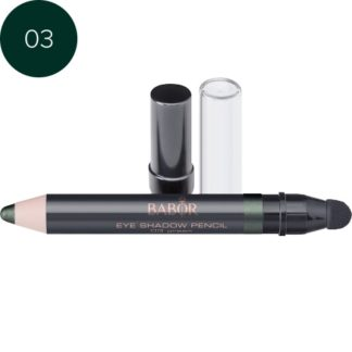 Eye Shadow Pencil 03 green barbor - luxury cosmeticts - michaela - moorman - makeup