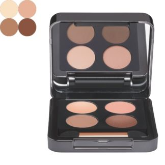Eye Shadow Quattro 01 warm - luxury cosmeticts - michaela - moorman - Makeup - Babor