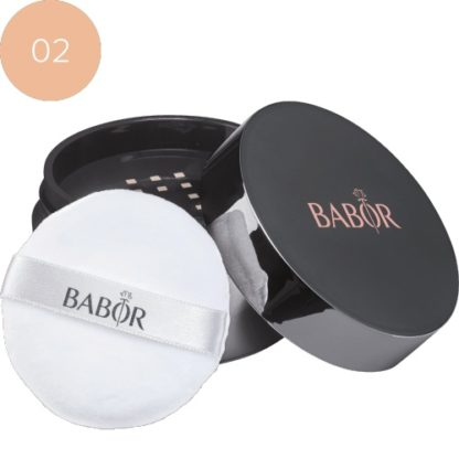 Mineral Powder Foundation 02 medium - barbor - luxury cosmeticts - michaela - moorman - makeup