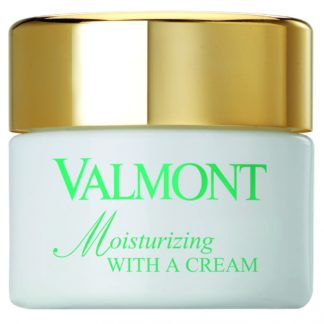 Moisturizing with a Cream - Valmont - luxury cosmeticts - michaela - moorman - verzorging