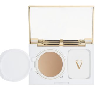 Perfecting Powder Cream Medium Beige - Valmont - luxury cosmeticts - michaela - moorman - verzorging