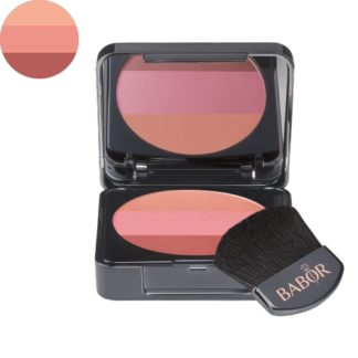 Tri-Colour Blush 02 rose - luxury cosmeticts - michaela - moorman - Makeup - Babor